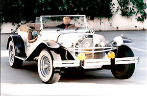 Classic car road rally